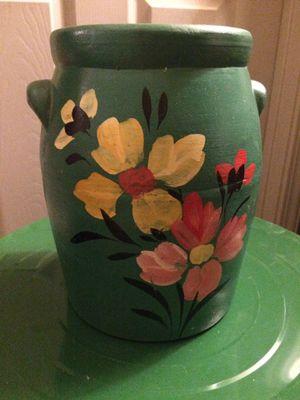 Floral Ceramic Pot for Sale in Salt Lake City, UT