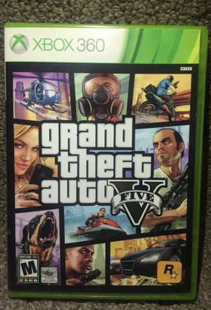 """""""Grand Theft Auto 5"""" for Microsoft Xbox 360 (Like New Condition!) for Sale in Phoenix, AZ"""