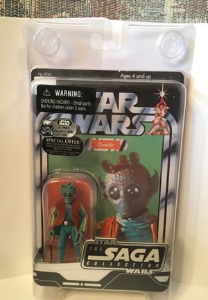 Star Wars The Saga Collection Greedo. for Sale in Philadelphia, PA