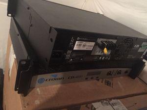 AMPLIFIER- crown audio cdi4000 for Sale in Arlington, VA