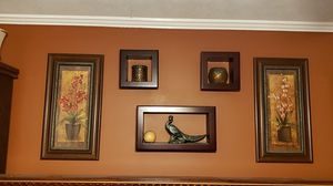 Pictures and wall shelves for Sale in Piedmont, SC
