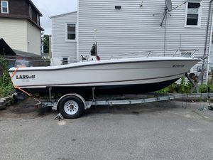 20FT Larson International Series 140hp Tohatsu for Sale in Westford, MA
