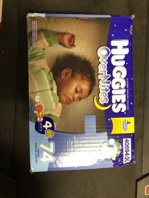 Huggies overnights for Sale in San Jacinto, CA