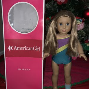 Retired American girl gymnast McKenna Doll for Sale in Irwin, PA