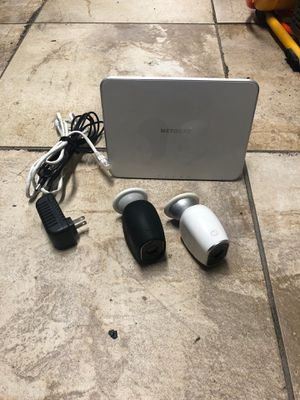 Complete Netgear Arlo 2 camera system for Sale in San Diego, CA