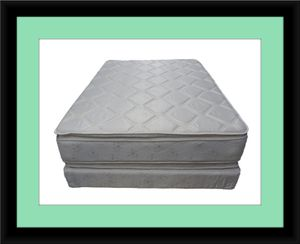 Pillowtop mattress with box spring for Sale in Fairfax, VA