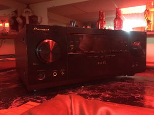 Pioneer elite stereo receiver works good play good as shit 460 watts on it for Sale in Detroit, MI