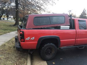 6ft red truck top for Sale in Alexandria, VA