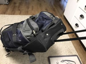 Huge rolling suitcase backpack in one for Sale in Lodi, CA