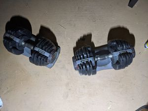 Weights Bowflex dumbells for Sale in Manteca, CA