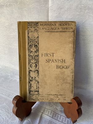 1884 Worman's Modern Language Series First Spanish Book. for Sale in Encinitas, CA