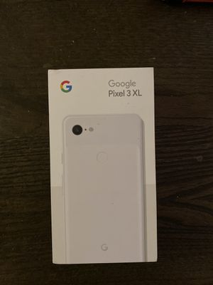 Pixel 3xl w/ box and accessories for Sale in San Ramon, CA