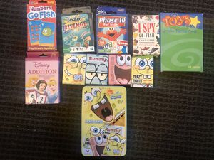 10 card games for kids for $15 for Sale in Phoenix, AZ
