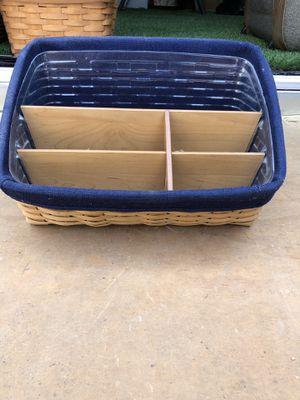 Longaberger letter basket for Sale in Riverside, CA