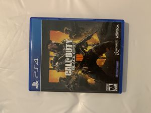 PS4 call of duty black ops 4 like new for Sale in Denver, CO