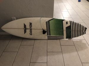 Canyon 6'4 surfboard. for Sale in Clearwater, FL
