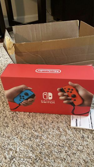 Nintendo switch 32 gb neon red / blue BRAND NEW for Sale in Middleburg Heights, OH
