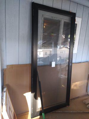 Andersen left hand Storm and screen door for Sale in Hillsboro, OR