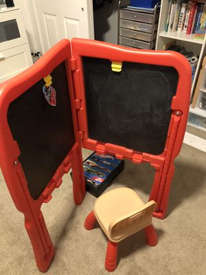 Kids chalkboard and dry erase board for Sale in Temecula, CA