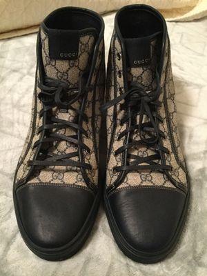 Gucci Men's Original GG Canvas High-Top Sneakers for Sale in Wichita, KS