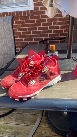 Jordan 4 football cleats for Sale in Portsmouth, VA