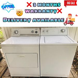 ❌ whirlpool washer and dryer ❌ for Sale in Valrico, FL