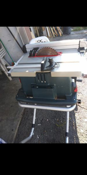 Bosch 4100 10-in Carbide-Tipped Blade 15-Amp Table Saw for Sale in San Diego, CA