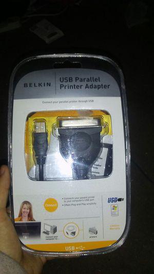 Belkin Usb parallel printer adapter for Sale in Bakersfield, CA