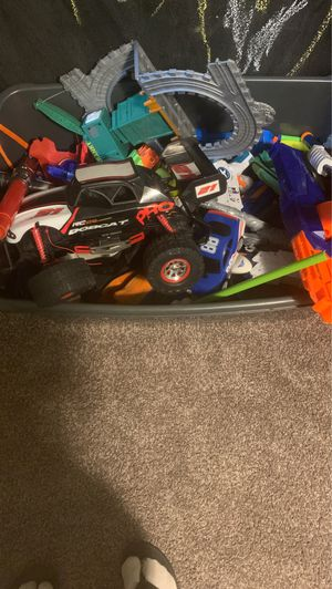 Tons of toys nerf guns Alec cars LEGO's and more for Sale in Kent, WA