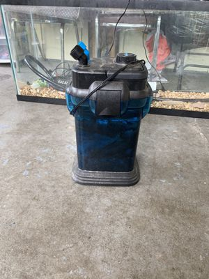 Fish tank and filter for Sale in Montgomery, AL