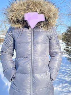 MICHAEL KORS Grey Girls Hooded Puffer Stadium Coat for Sale in Middletown,  NJ