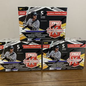 Elite Panini Extra Edition Baseball Blaster Box Lot for Sale in Shorewood, IL
