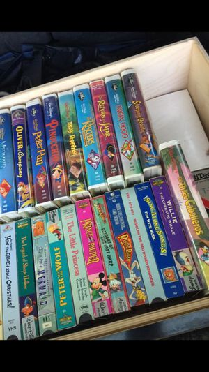 Classic Disney vhs tapes great condition for Sale in Queens, NY