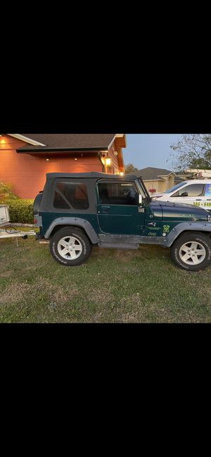 98 Jeep Wrangler tj sport for Sale in Deltona, FL