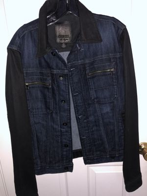 Brand new Size Small Mens Guess Jean jacket. Originally priced $178 + tax. I'm selling it for only $50 for Sale in Castro Valley, CA