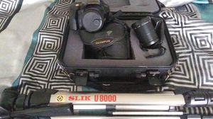 100 olympus super-dls camera set for Sale in Fort Worth, TX
