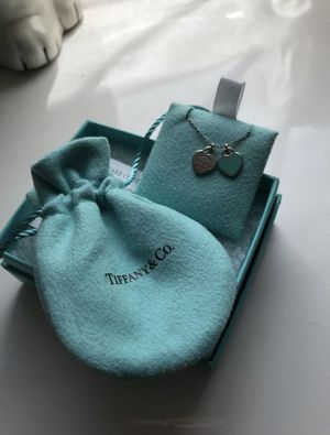 Tiffany & Co sterling heart necklace for Sale in Brook Park, OH