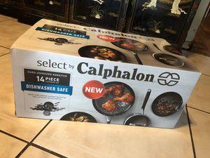 14 piece set calphalon for Sale in Miami, FL