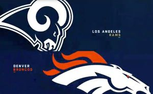 Broncos vs Rams Tix for Sale in Montclair, CA
