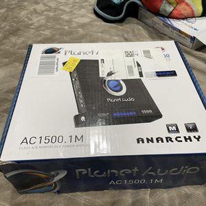 Planet Audio 1500 Watt Amp for Sale in Reedley, CA