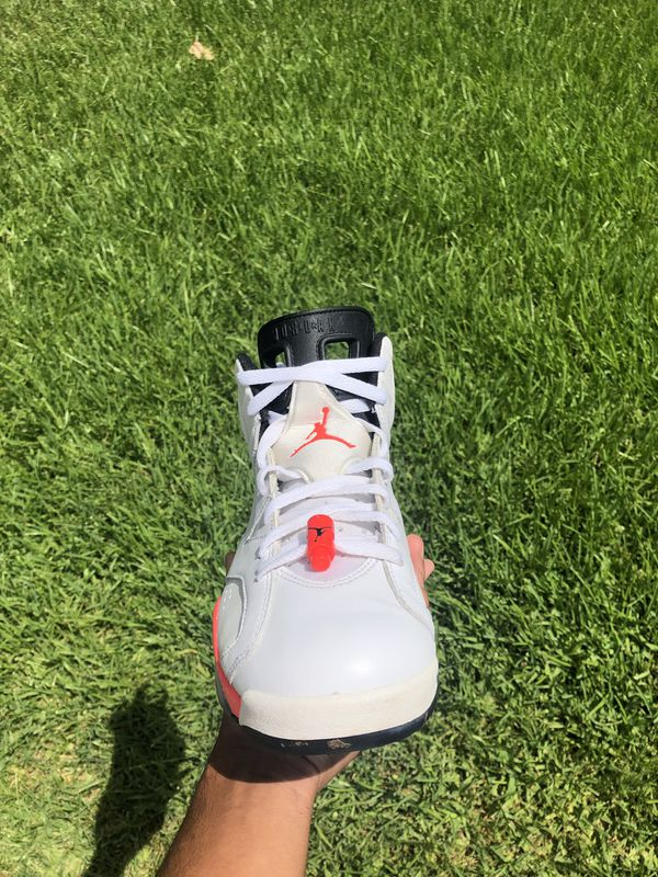 White Infrared 6s