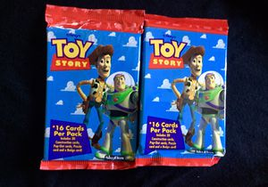 Toy story vintage Collectable card packs for Sale in Downey, CA