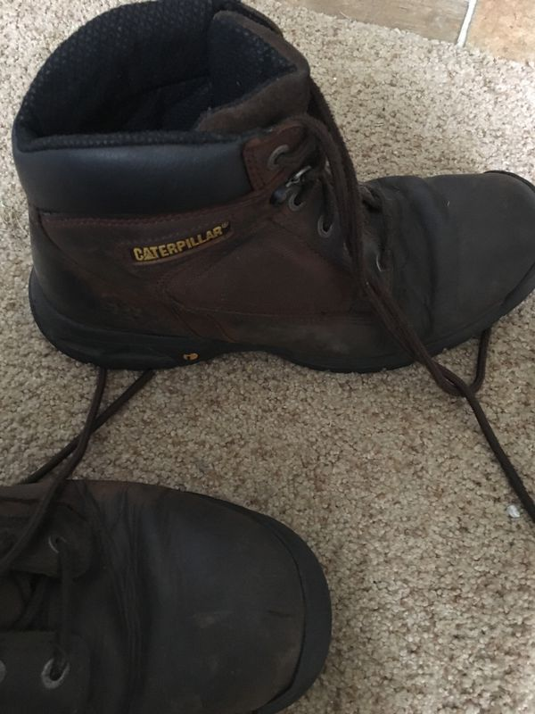 Caterpillar work boots size 11