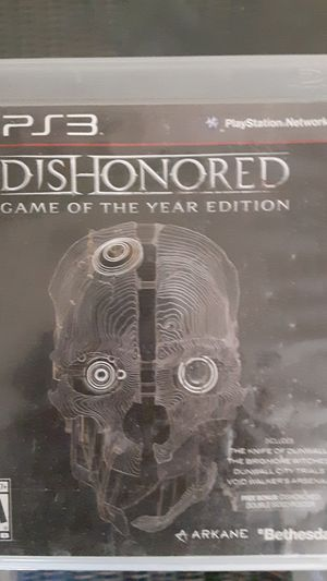 ps3 dishonored game for Sale in Las Vegas, NV