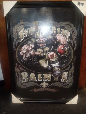 Rare new orleans saints poster for Sale in Fenton, MO