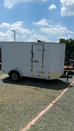 6x10 Enclosed Trailer with Double Door for Sale in Burlington, NC