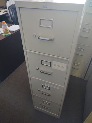 4 Drawer Office File Cabinets for Sale in Chandler, AZ