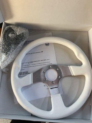 Sport Line 350mm Atlantic Marine Boat Steering Wheel + Hub for Sale in Normandy Park, WA