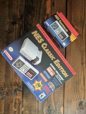 NES Nintendo Classic with Extra Controller - Brand New in Box for Sale in Poway, CA