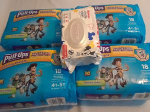 Huggies o pull ups bundle , huggies $20 pull ups $24 for Sale in Haines City, FL